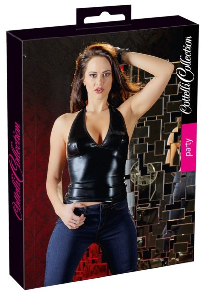 Neckholder Wetlook-Top