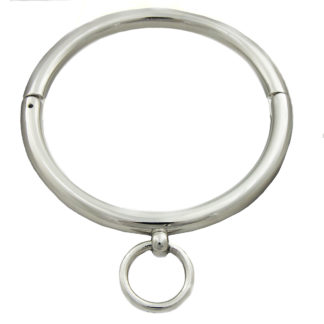 Runde Chrom-Halsfessel O-Ring