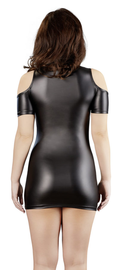 Minikleid matt Cut-outs